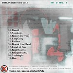 BERLIN.electronic.volII back cover