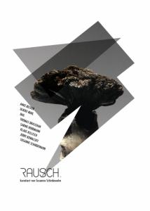 Einladung der Ausstellung RAUSCH