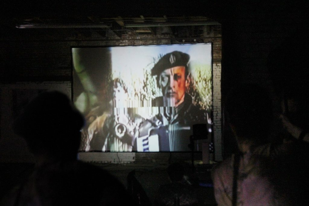 video art by KAISAR and Enkidu rankX shown in Brooklyn